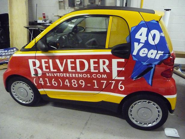 Belvedere car